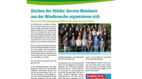 Windinfoblatt Ausgabe 8 Januar 2015