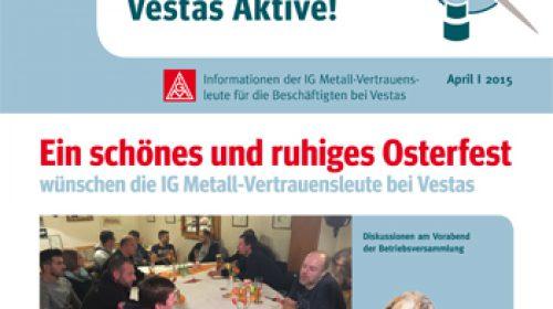 Ostergruß der Vestas Vertrauensleute