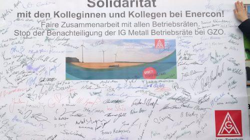 01. Mai in Aurich: Demokratie darf nicht am Werkstor enden!