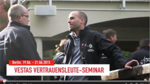 IG Metall Seminar der Vestas Aktiven