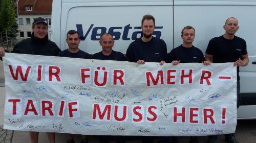 Stützpunktfoto#5: Bad Langensalza - Wir für mehr, Tarif muss her!
