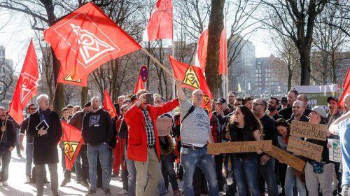 Erneute Proteste vor PowerBlades in Bremerhaven am 26.06.2017