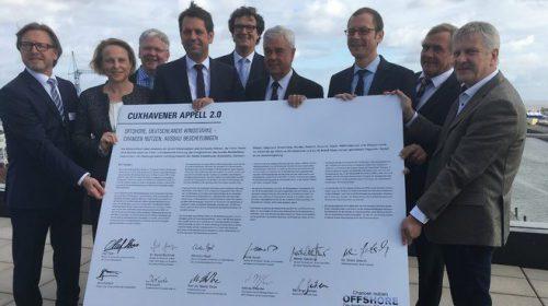 IG Metall Küste unterzeichnet Cuxhavener Appell 2.0 für einen stärkeren Ausbau der Offshore-Windkraft