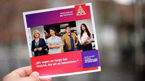 Internationaler Frauentag – Christiane Benner fordert mehr Tempo bei der Gleichstellung