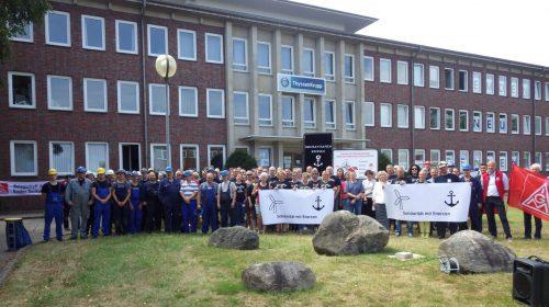 Solidarität mit den Beschäftigten von ENERCON