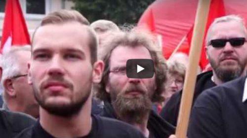 Video: Große Solidarität - Hunderte bei Kundgebung in Aurich