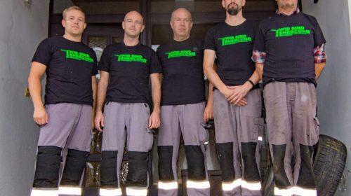 Auch wir sind Enercon - Kollegen am Servicestützpunkt Bad Sachsa solidarisch