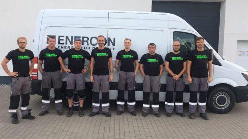 Solidarität vom Servicestützpunkt Greifswald der WEA Service Nord Ost